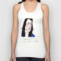 notorious Tank Tops featuring Notorious W.I.S.E.A.U by withapencilinhand