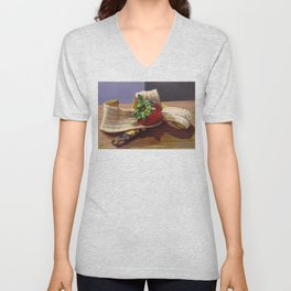 Banana Split Unisex V-Neck