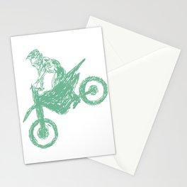 Dirt bike Motocross Stationery Cards