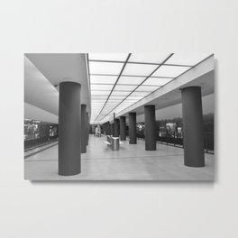Tube-Station Brandenburg Gate - Berlin Metal Print