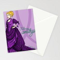 Birthstones: February Stationery Cards