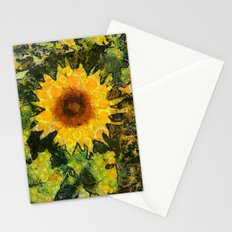 you can't have enought sunflowers Stationery Cards
