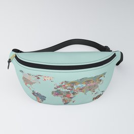 Louis Armstrong Told Us So (teal) Fanny Pack