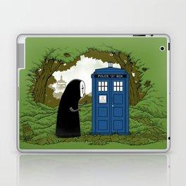 Curious Faceless Spirit Laptop & iPad Skin