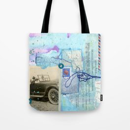 a day by the sea Tote Bag