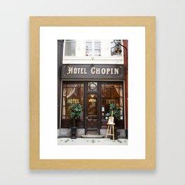 Hôtel Chopin Grands-Boulevards Paris Framed Art Print