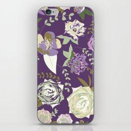 Dark velvet roses iPhone Skin