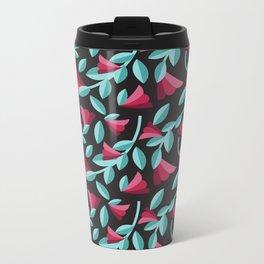Tossed Roses Metal Travel Mug
