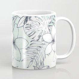 Floral Sketches Coffee Mug