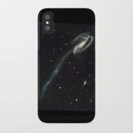 """Tadpole"" Colliding Galaxy Society6 Planet Prints iPhone Case"
