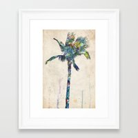 palm tree Framed Art Prints featuring Palm Tree by Taylor Payne