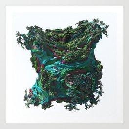 Abstract Fractals Number 33. Art Print