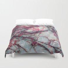 Grey Marble Duvet Cover