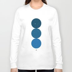 blue i 001 Long Sleeve T-shirt