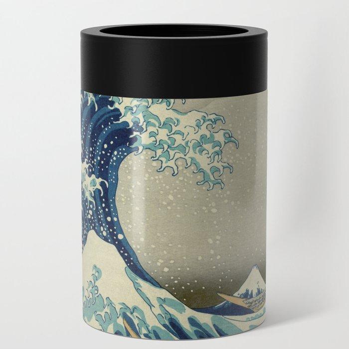 The Great Wave off Kanagawa Can Cooler