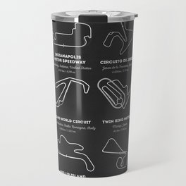The Motogp Circuits Travel Mug