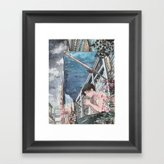 Bicycle Boy 07 Framed Art Print