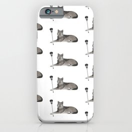 Lacrosse Wolf iPhone Case