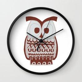 Dawson Owl Wall Clock