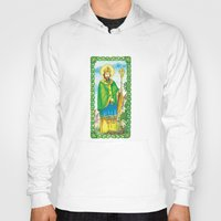 patrick Hoodies featuring Saint Patrick by TheCore
