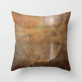Solitary Consolation Throw Pillow