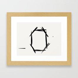 pOsTeR pAnEl Framed Art Print