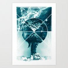 Atomic Space Art Print