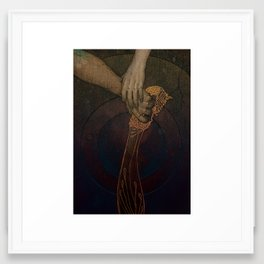 Iberia Framed Art Print