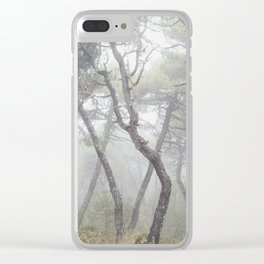 """""""Forest dance"""". Into the foggy woods... Clear iPhone Case"""