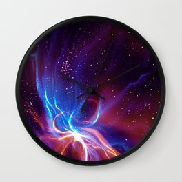 Nebulaic Wall Clock