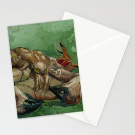 A Crab on its Back by Vincent Van Gogh Stationery Cards