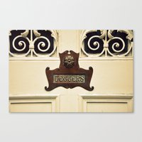 letters Canvas Prints featuring Letters by Danielle W