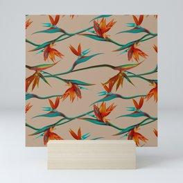 Birds wander Mini Art Print