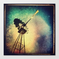 october sky Canvas Print