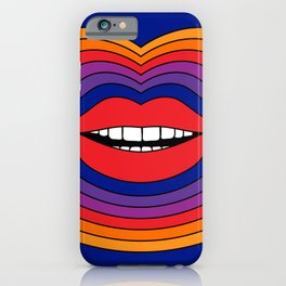 Pop Lips iPhone Case
