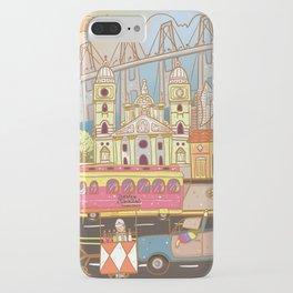 Maracaibo en un Doodle  iPhone Case