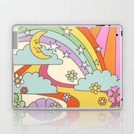 retro hippie boho print  Laptop & iPad Skin
