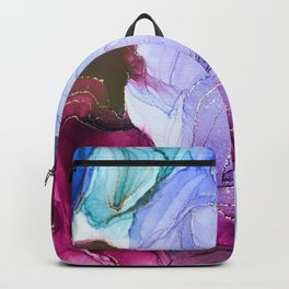 Abstract Floral Dream Backpack