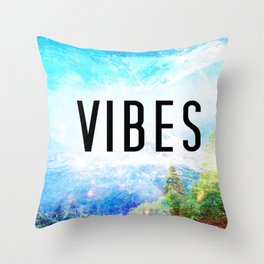 Mountain VIBES Wall Decor  Throw Pillow