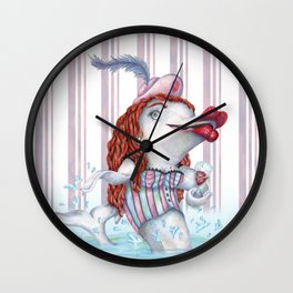 Delphina Cabaret Wall Clock