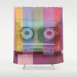 Cassette#tvcolor#VHS Shower Curtain