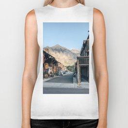 Street Photo Biker Tank