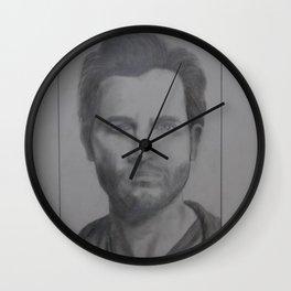 Tyler Hoechlin Wall Clock