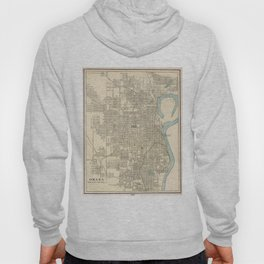 Vintage Map of Omaha Nebraska (1901) Hoody