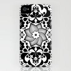 Folk flowers iPhone (4, 4s) Slim Case