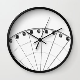 The wheel back white 1 Wall Clock