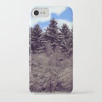 forrest iPhone & iPod Cases featuring Christmas forrest by Shitmonkey
