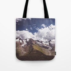 The mighty glaciers Tote Bag