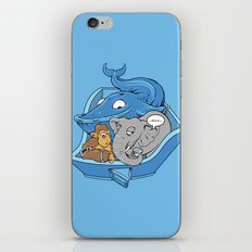 The Blue Whale in the Room iPhone & iPod Skin