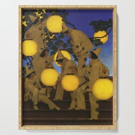 The Lantern Bearers by Maxfield Parrish Serving Tray